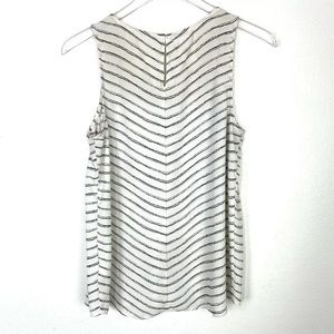 Maurices White & Black Striped Top Size S